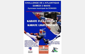 Coupe de l'Atlantique Karaté Light Contact & Full Contact - DONGES